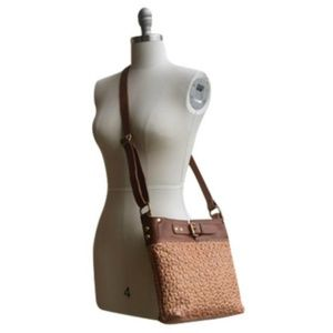 Quilted Leather Crossbody Bag